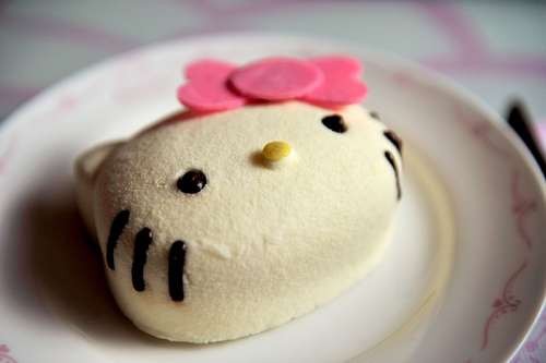 hello kitty, i want to eat that, this is a food