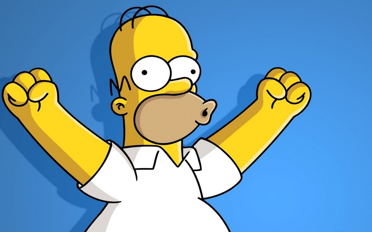 homer, the simpsons, wallpaper