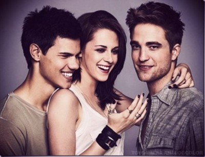 kristen stewart, robert pattinson, taylor lautner, twilight