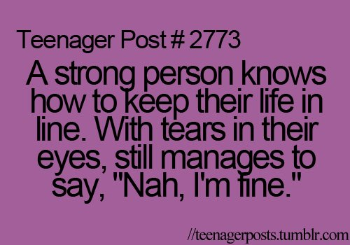 life, purple, quotes, stay strong, teen age, teenager post, teenagerposts, text, true