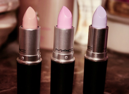 lilac, lipstick, mac, pink, playing koi