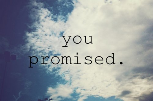 love, promise, promised, promises, promising