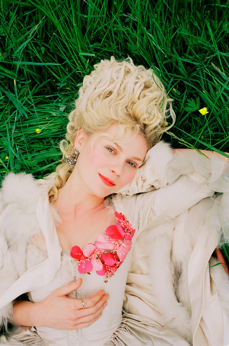 18th century, blonde, dress, french, girl, hair, kirsten dunst, marie antoinette, sofia coppola, versailles