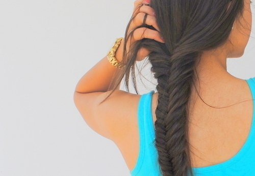 2012, beautiful, beauty, everything, fashion, fishtail, hair, hairstyle, love, mode, style