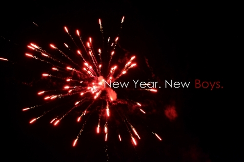 2012, black, boys, firework, lights, new year, photography, red, reginefloan, text, white