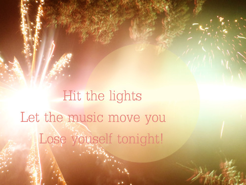 2012, firework, fireworks, happy new year, have fun, hit the lights, lightners, lightning, lights, lyrics, new year, new years eve, night sky, party, quote, quotes, sky, smile, text