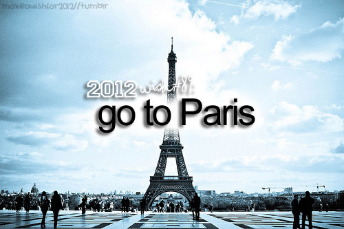 2012, paris, wishes