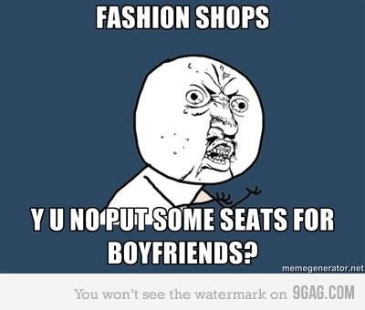9gag, boyfriend, fashion, meme, shop, y u no