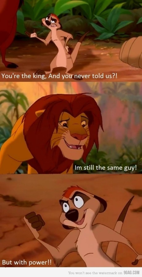 9gag, king, king of lion, lion king, simba
