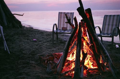 adventure, beach, fire, free, girl