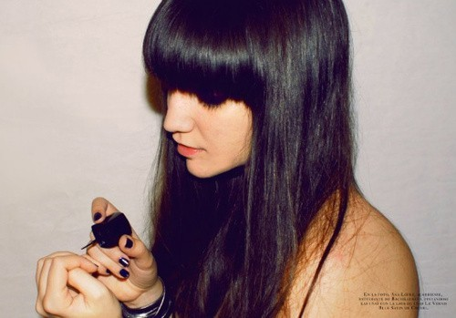 alone, cool, girl, gorgeuos, nails