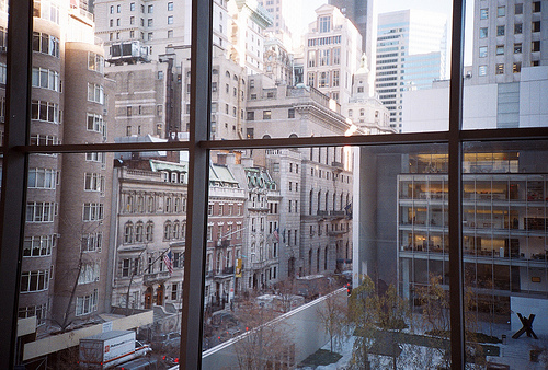 america, city, exterior, new york, new york city, nyc, united states, usa, window