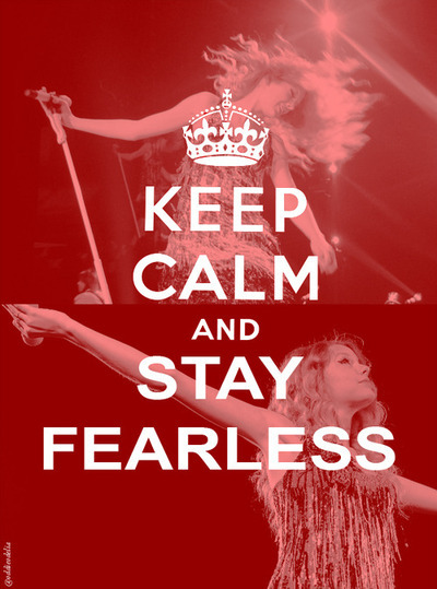 and, calm, fearless, keep, stay
