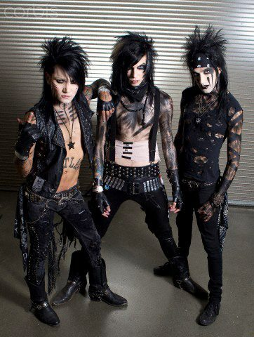 andy six, andy sixx, ashley purdy, black veil brides, bvb