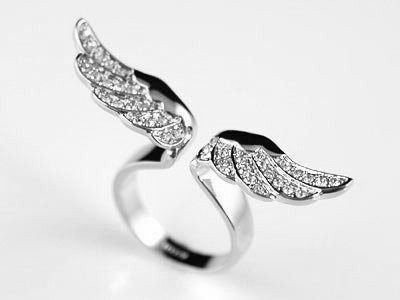 angel wings ring, fashion, ring