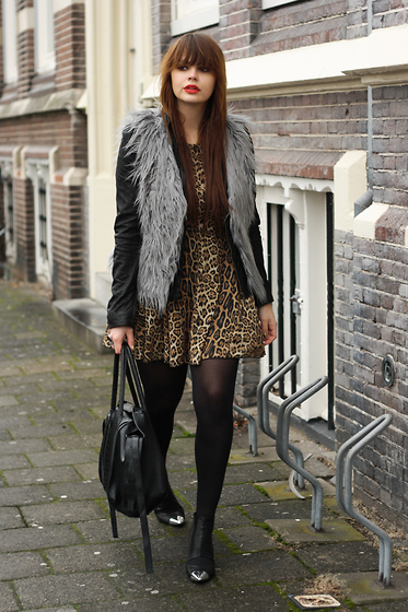 animal print, cheeta, cool, fashion, gilr