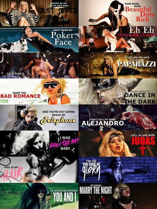 anime, cute, jo calderone, lady gaga, little monster