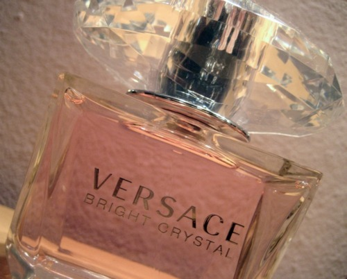 annchanel, crystal, cute, diamond, expensive, fashion, fragrance, girly, luxury, parfume, perfume, versace, versace bright crystal