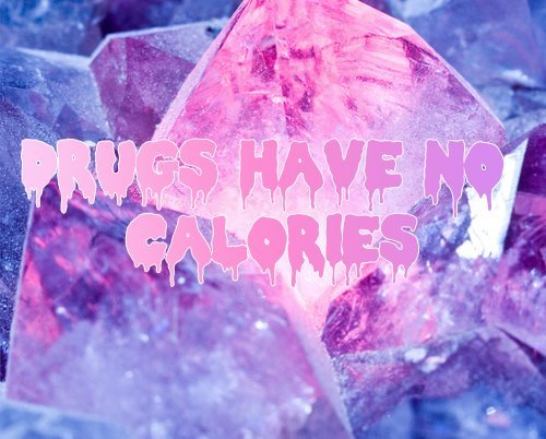 anorexia, blue, calories, drugs, pink