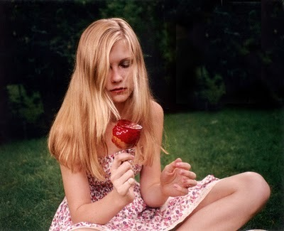 apple, blonde, girl, kirsten dunst, the virgin suicides