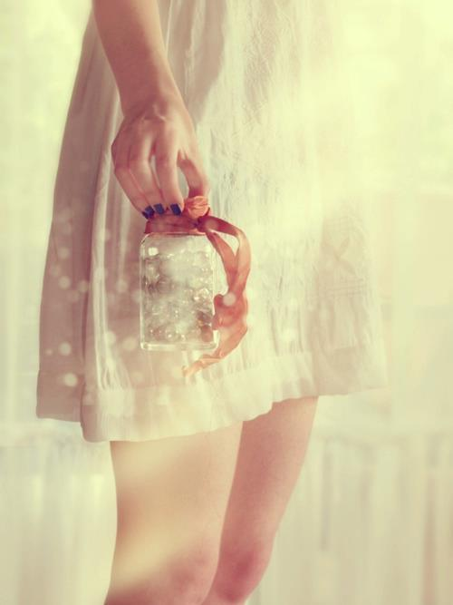 arms, cute, dress, girl, jar, legs, nails, nice