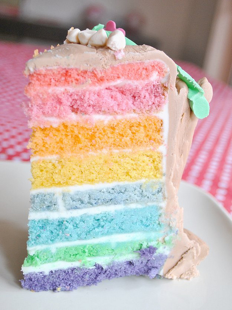 art, bake, beautiful, blue, cake - image #364198 on Favim.com