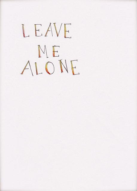 Leave Me Alone Quotes Tumblr