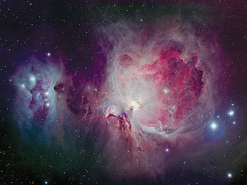 pink and purple nebula - photo #3