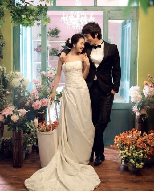 asian, boy and girl, couple, cute, korean, love, marriage, wedding