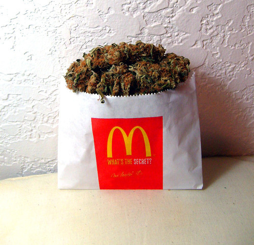 awesome, cannabis, dope, fantastic, french fries, high, mcdonalds, weed