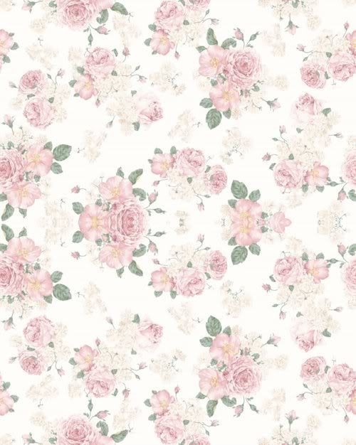 rose pattern wallpaper Photo