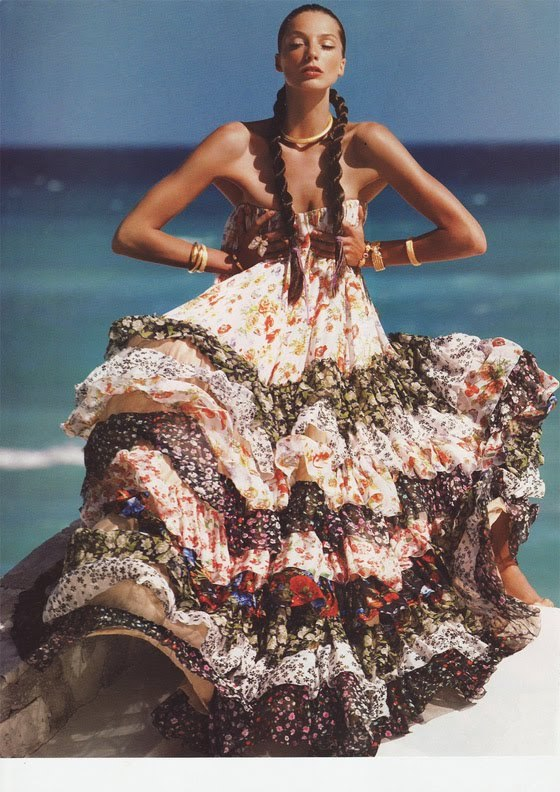 Beach Bohemian Fashion Hippie Vintage Image 365047 On