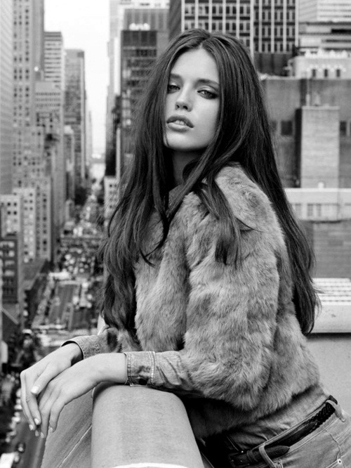 beautiful, black and white, emily didonato, fashion, girl