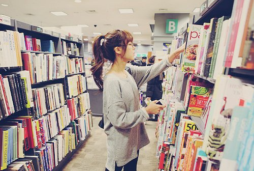 beautiful, books, fashion, girl, kawaii