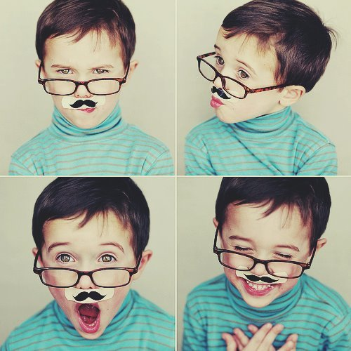 beautiful, boy, cute, glass, glasses, laugh, moustache, mustache, nice, photo, photography, sweet
