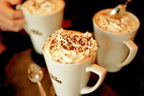 beautiful, cafe, cappuccino, cocoa, coffee