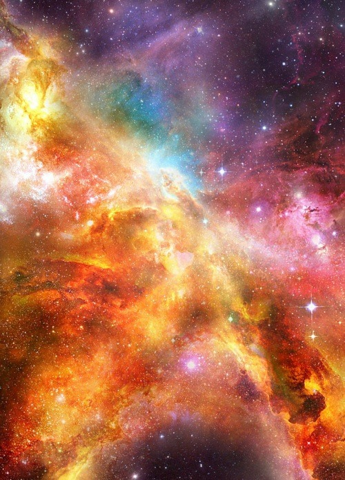 beautiful, color, colorful, galaxy, nebula, universe