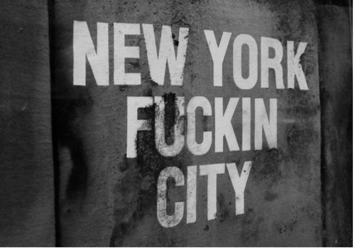 black and white, city, cuty, fuckin, new york