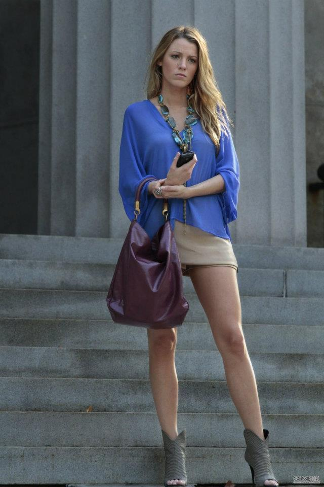 Blake Lively On Gossip Girl Blake Lively Style Pinterest