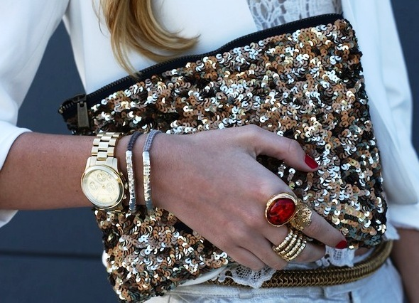blonde, bracelet, clutch, fashion, ring