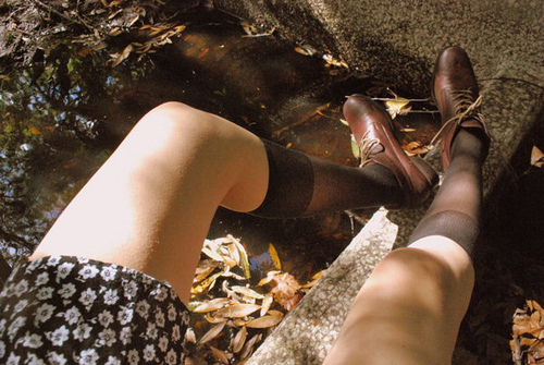 boots, cute, fashion, girl, hipster, indie, legs, skirt, thighs