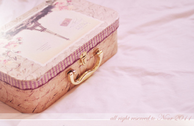 box, cute, eiffel tower, paris, pink, vintage