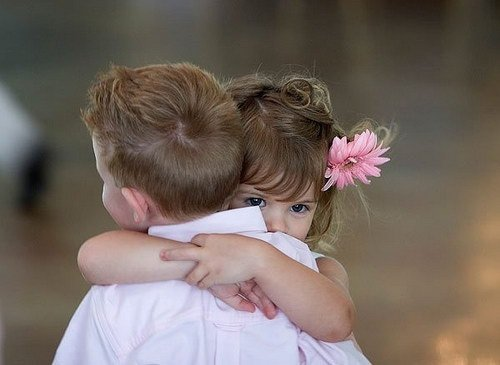 boy, boy and girl, child, children, girl, girl and boy, hug, hugs, kids, kiss, kisses, love