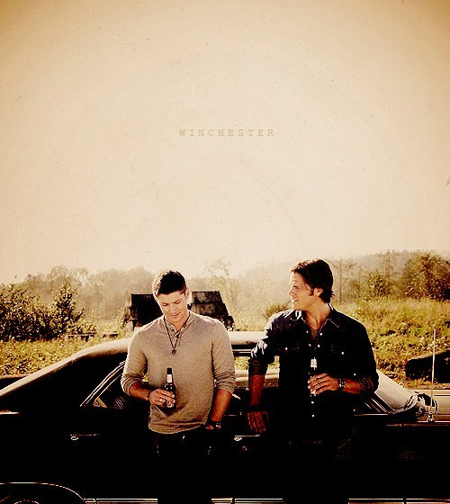 brothers, chevrolet impala 1967, dean, jared padalecki, jensen ackles