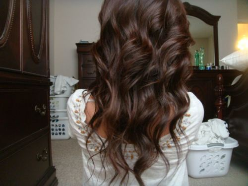 brown, curl, hair