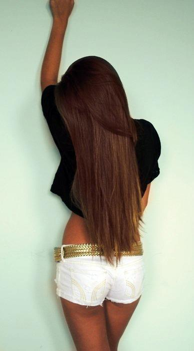 brown hair, hair, long hair, model - image #363932 on Favim.com