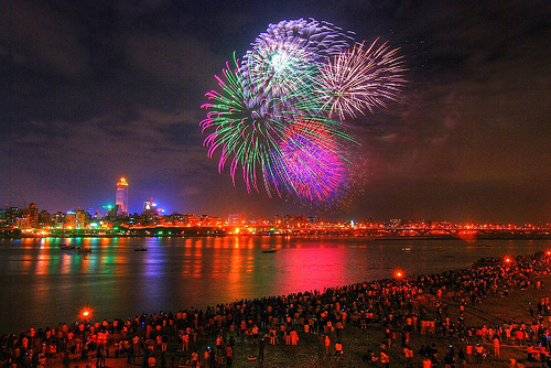 colors, fireworks, new year