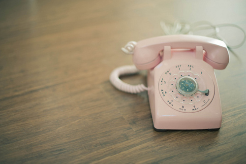 cute, day, month, pastel, phone, pink, telephone