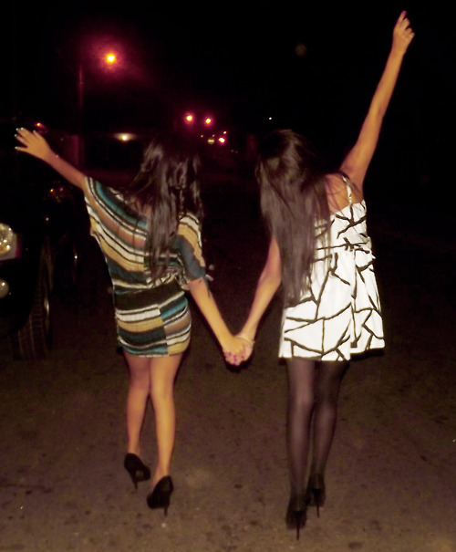 dress, friends, latin girl, latinas, night