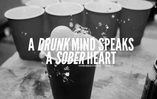 drunk, heart, life, quote, text